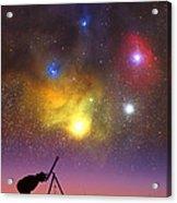 Wonder Of The Universe Acrylic Print