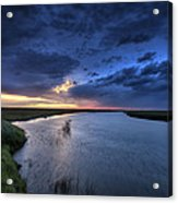 Wood River Saskatchewan Canada Acrylic Print