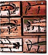 Wooden Killers Acrylic Print