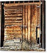 Wooden Slats Barn Acrylic Print