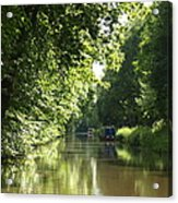 Woodend Cutting Acrylic Print