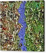 Woodpile 6122 Acrylic Print
