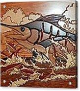 Woodwork Acrylic Print