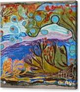 Woolscape Acrylic Print