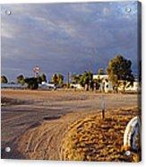 Wooramel Roadhouse In Australia Acrylic Print by Jeremy Woodhouse