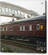 Work Train Acrylic Print