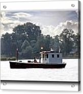 Workboat Acrylic Print