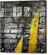 Workers Built Roads Acrylic Print