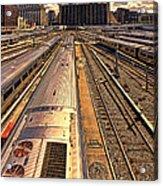 Workin' On The Railroad Acrylic Print