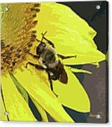 Working Bee Acrylic Print