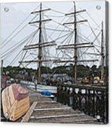 Working Dock Acrylic Print