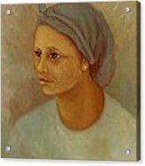 Working Woman Acrylic Print