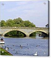 Workman Bridge And The River Avon Acrylic Print