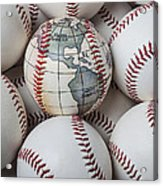 World Baseball Acrylic Print