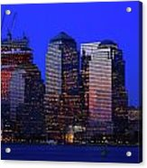 World Financial Center New York Acrylic Print