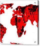 World Acrylic Print
