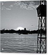 World Showcase Sunset Acrylic Print
