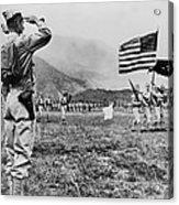 World War II, Brigadier General E.b Acrylic Print by Everett