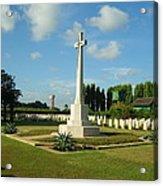 World War Memorial Acrylic Print