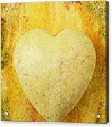 Worn Heart Acrylic Print