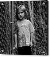 Worried Innocence Acrylic Print