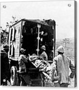 Wounded At The Battle Of Somme - Wwi -- France Acrylic Print