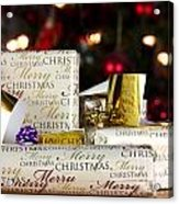 Wrapped Gifts With Tags Acrylic Print