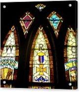 Wrc Stained Glass Window Acrylic Print