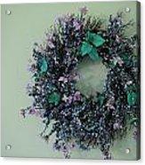 Wreath Acrylic Print