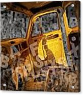 Wreck On The Information Highway Acrylic Print
