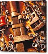 Wrench Tools And Nuts Acrylic Print
