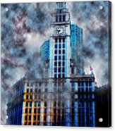Wrigley In Clouds Acrylic Print