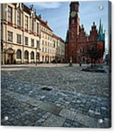 Wroclaw Town Hall Acrylic Print