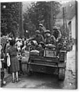 Wwii Liberation Of France Acrylic Print