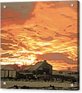 Wyoming Sunrise 1 Acrylic Print