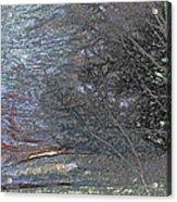 Wyoming Sunset Acrylic Print