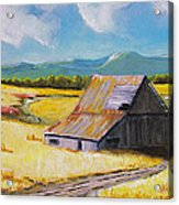 Wyoming Valley Acrylic Print