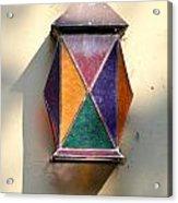 X Marks The Lamp Acrylic Print