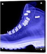 X-ray Of A Hiking Boot Acrylic Print
