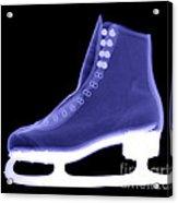 X-ray Of An Ice Skate Acrylic Print