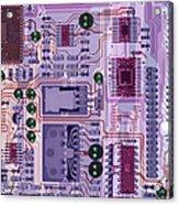 X-ray Of Sound Card Acrylic Print