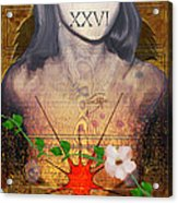 Xxvi Acrylic Print