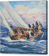 Yacht Club Acrylic Print