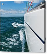 Yacht Lines Acrylic Print