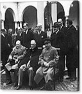 Yalta Conference, 1945 Acrylic Print