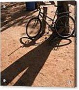 Yalva Sanga Bicycle Acrylic Print
