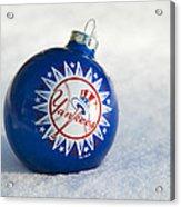 Yankees Ornament Acrylic Print