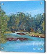 Yarra River Warrandyte Acrylic Print