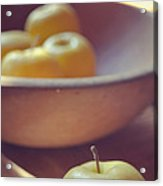 Yellow Apples Acrylic Print