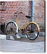 Yellow Cruiser Acrylic Print